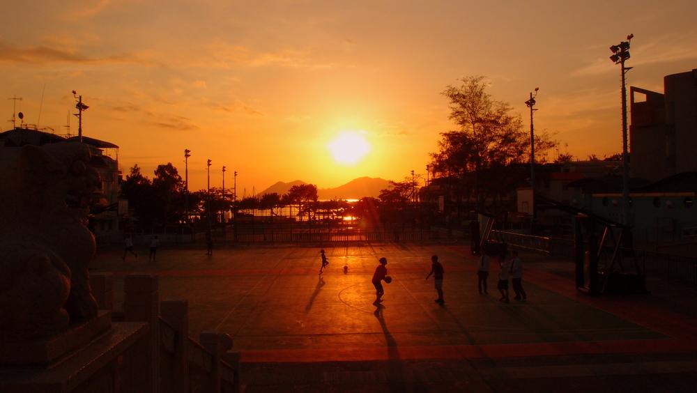 Sunset on Cheung Chau