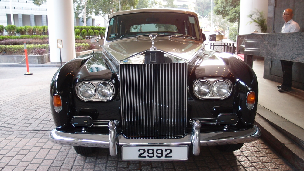 A magnificent old Rolls Royce