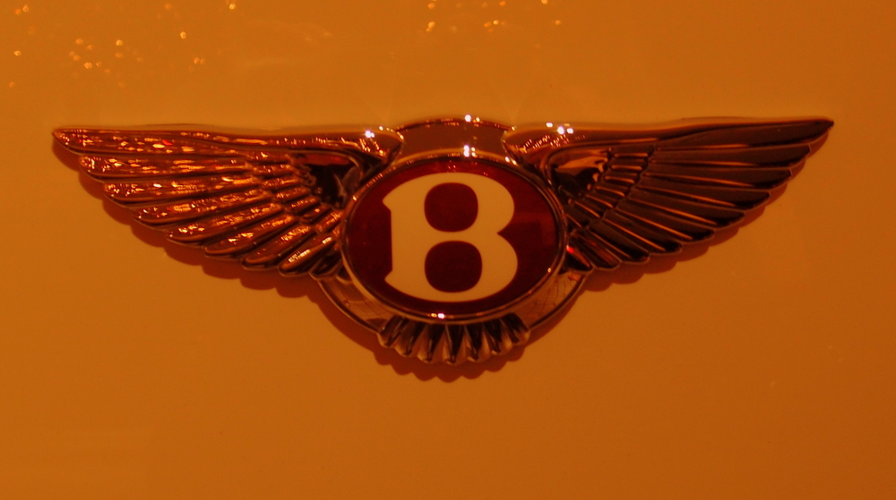 The Bentley Motorcar badge - very iconic