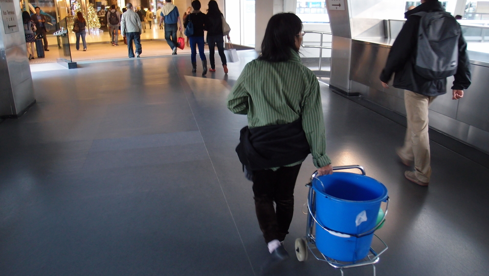 So what's in the bucket?