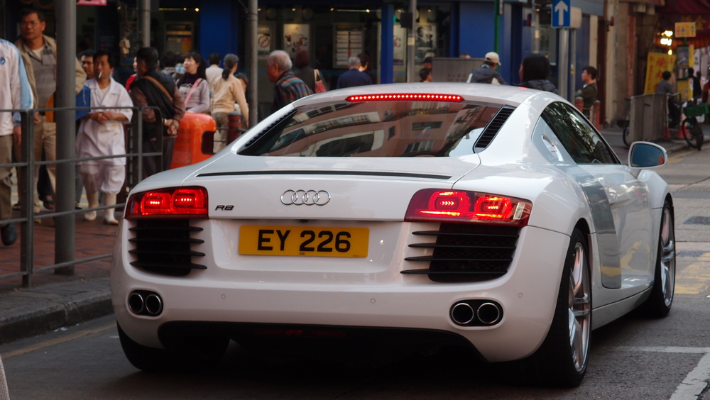 The brilliant Audi R8