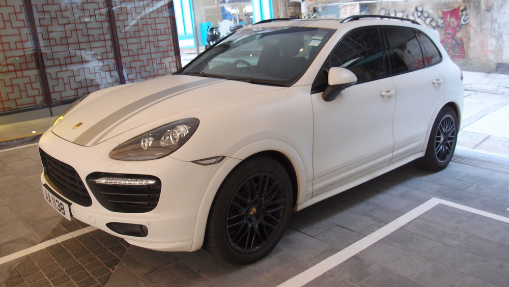 A customised Porsche Cayenne