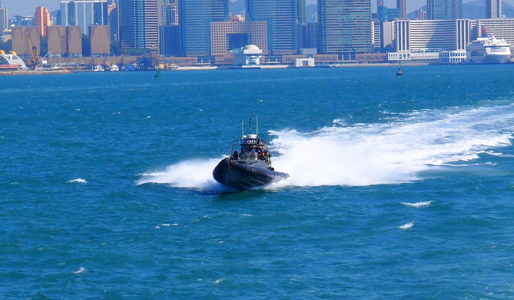 Marine Police doing their thing