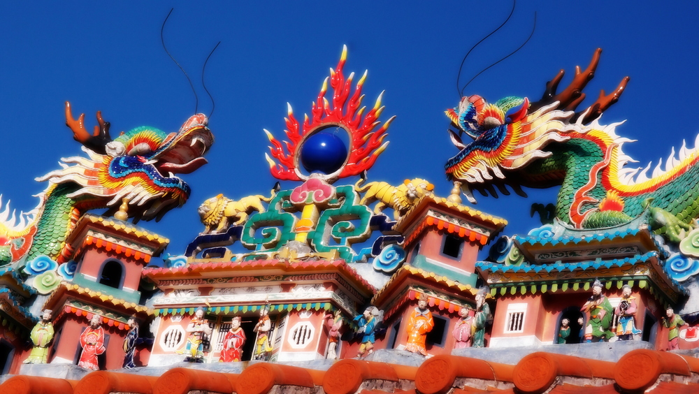 Another shot of the roof of the Pak Tai Temple
