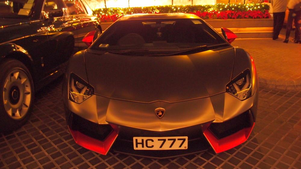 A rather magnificent Lamborghini