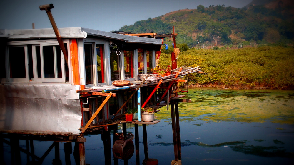 This is one of my favourite images taken at the Tai O Fishing Village on Lantau Island.