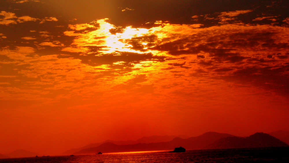 Another gorgeous Hong Kong sunset