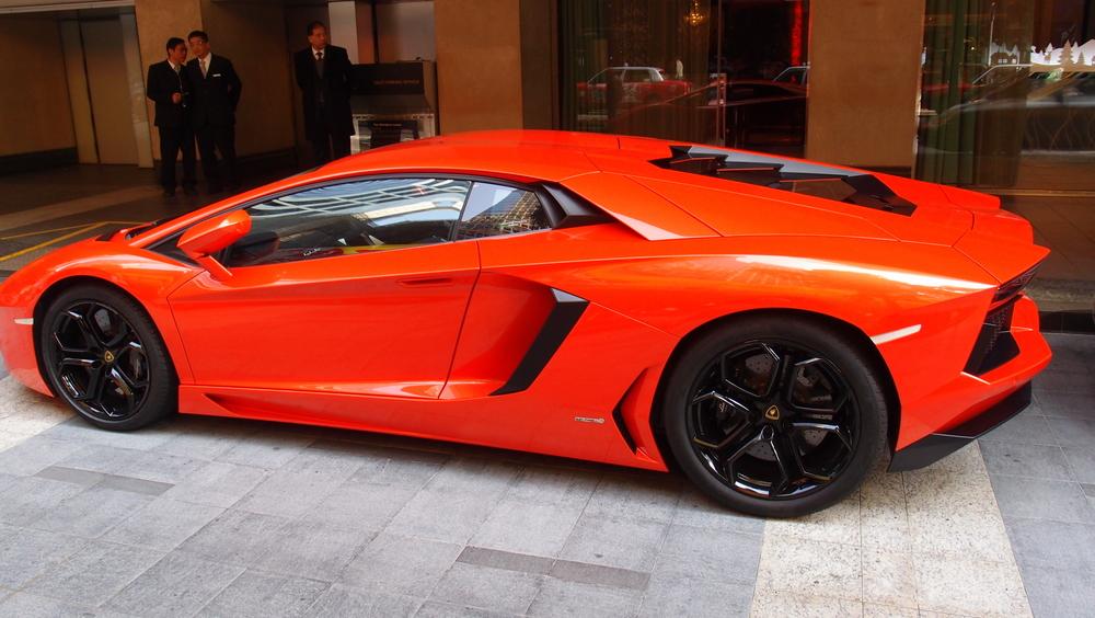 Lamborghini - a chick magnet!