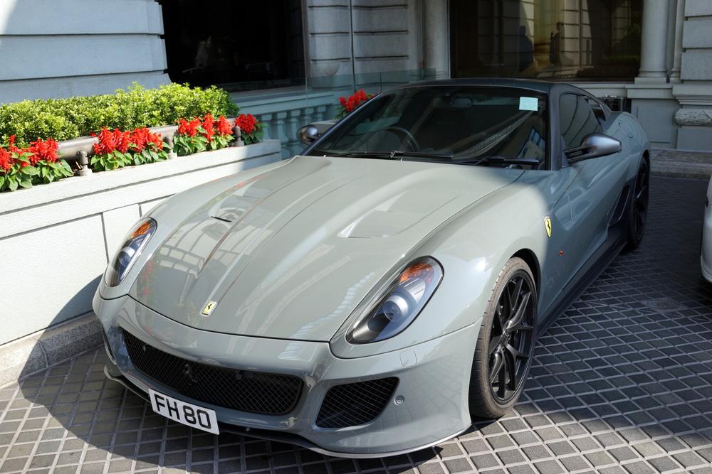 Ferrari GTO - not sure about the colour
