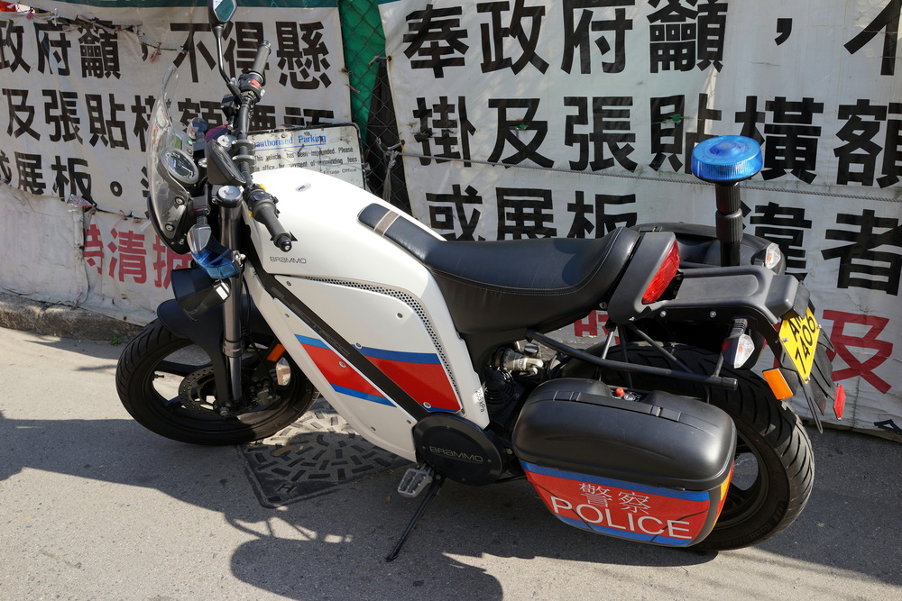 This new police bike is truly awful and it's electric.