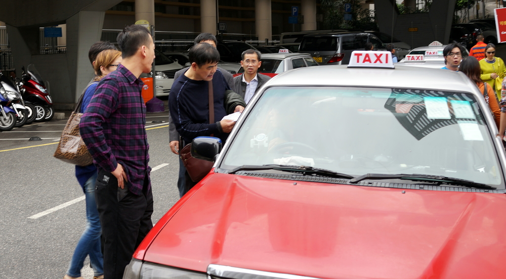 Nefarious taxi drivers