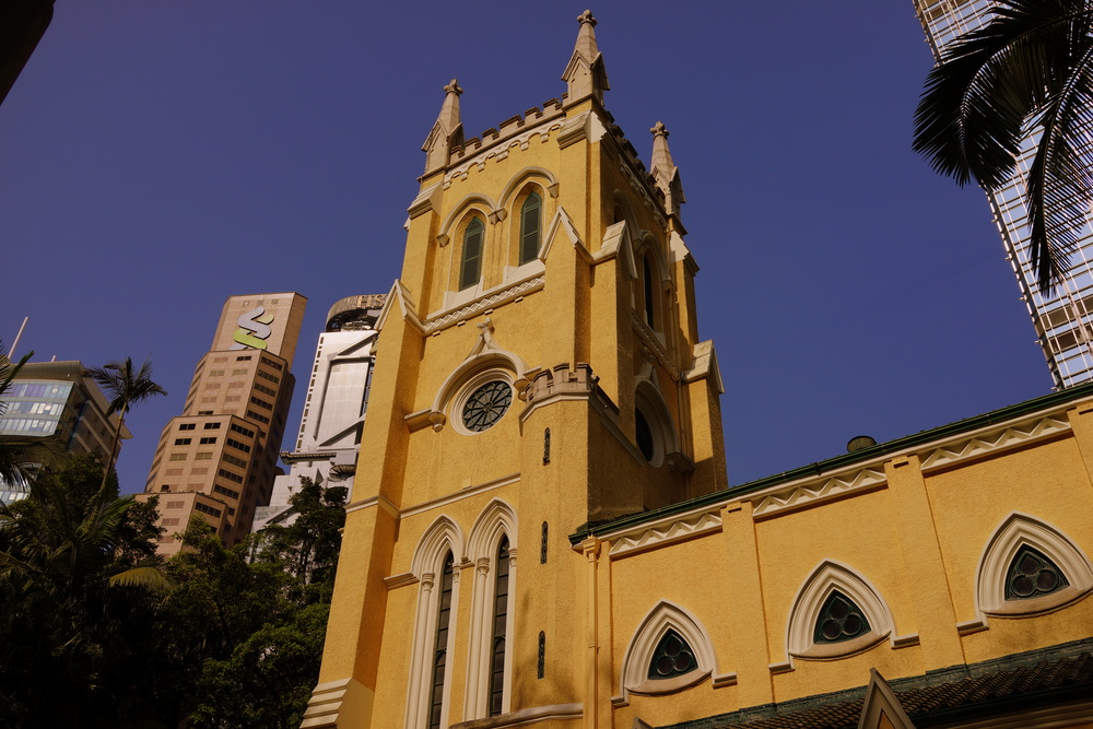 St. John's Cathedral on a gloriously sunny day