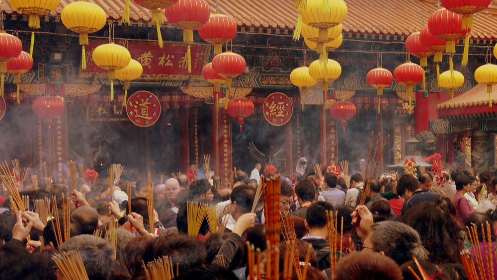 The brilliant madness and mayhem at the Sik Sik Yuen Wong Tai Sin Temple