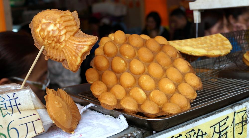 My favourite egg waffles on Cheung Chau Island