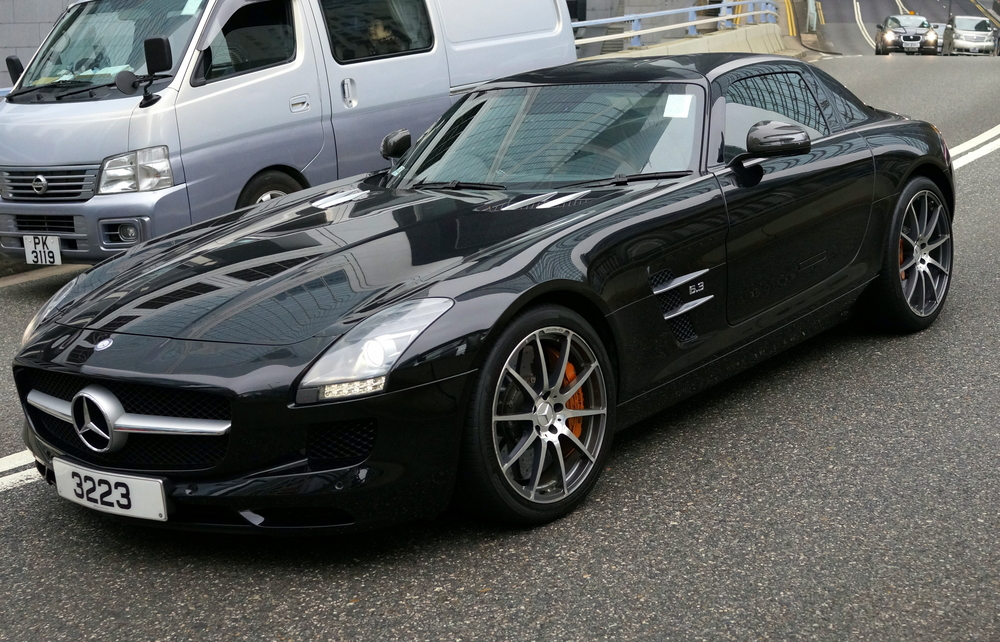The Mercedes 6.3 AMG SLS -