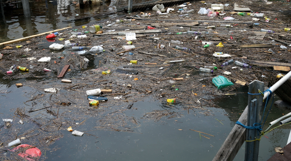 Just horrible -  when I go to the Tai O fishing village, I never do the boat tours as the water is simply disgusting.. the Government should crack down on this blatant disregard for litter laws