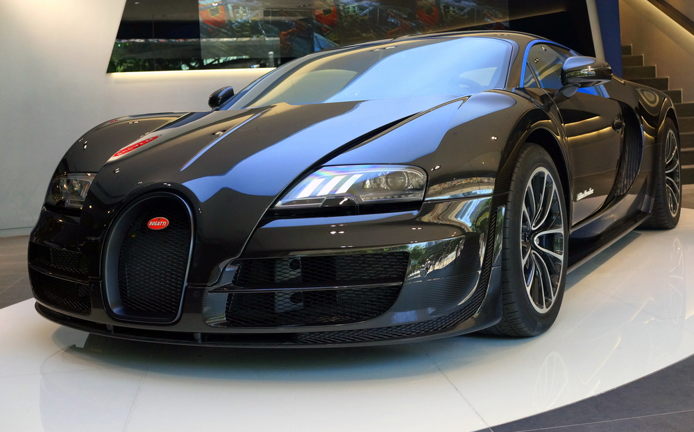Oh my.. a very special edition of the Bugatti Veyron in the Bugatti showroom in Central - WOW!!