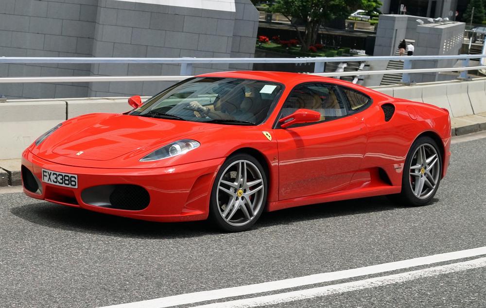 Ferrari - best in red colour.....