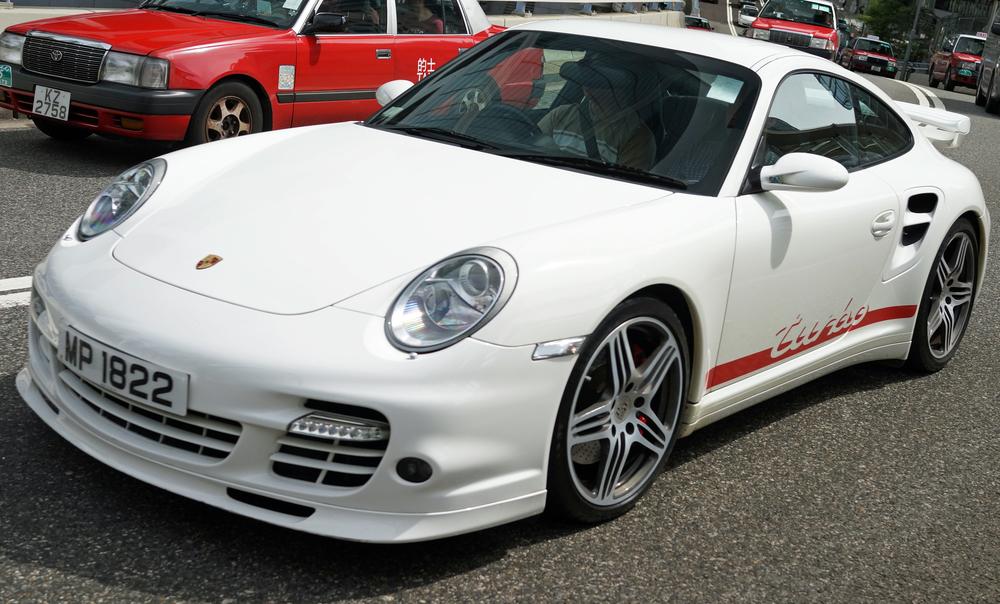 Still my favourite car - The Porsche Turbo .... magnificent