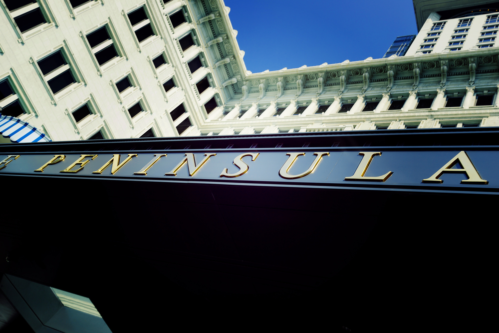 The simply iconic Peninsula Hotel in TST, Kowloon