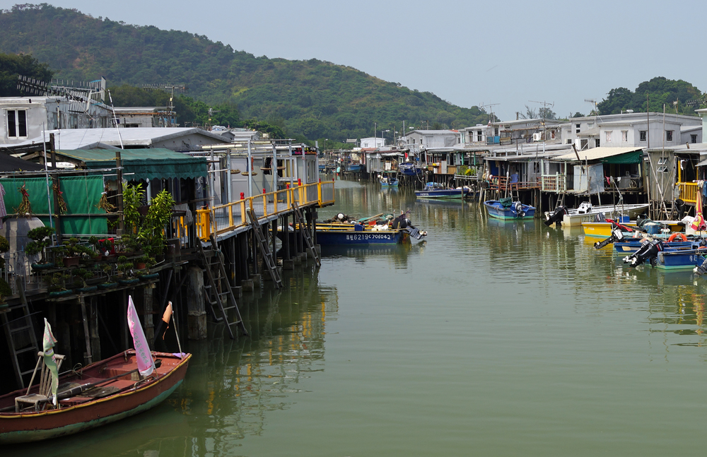 The wonderful Tai O Fishing Village on Lantau Island, Hong Kong
