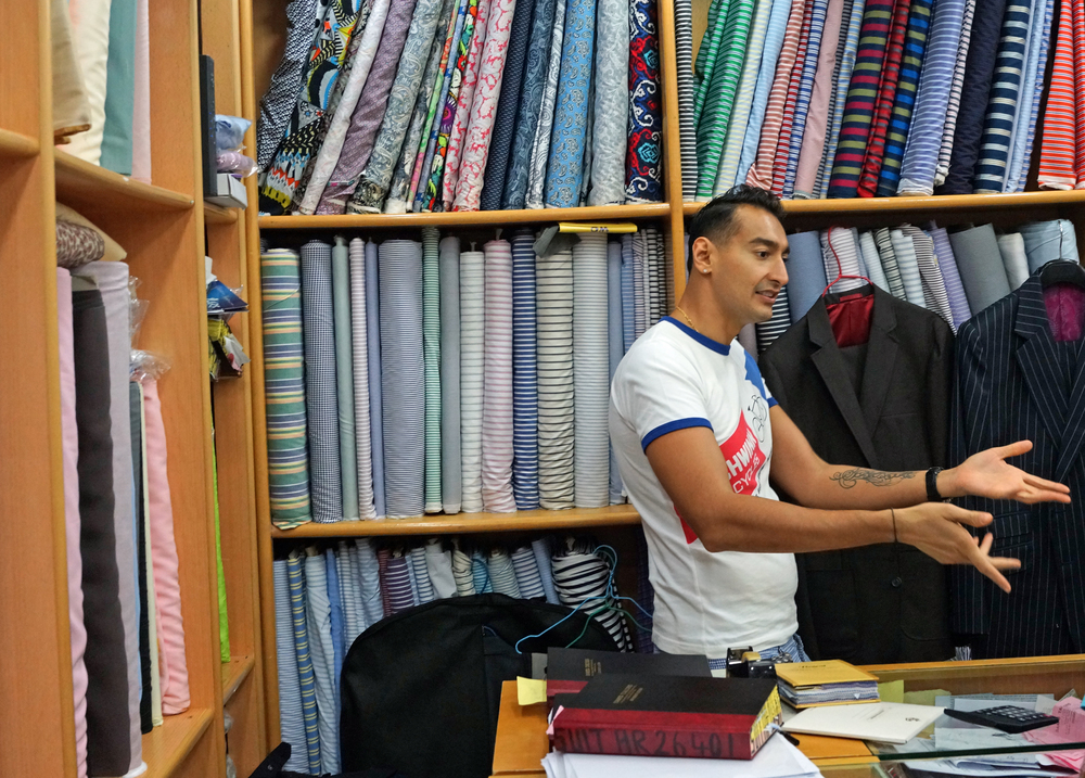Roshan (Son of Sam!) is amazing, his knowledge of tailoring is outstanding..... and he treats you like royalty.