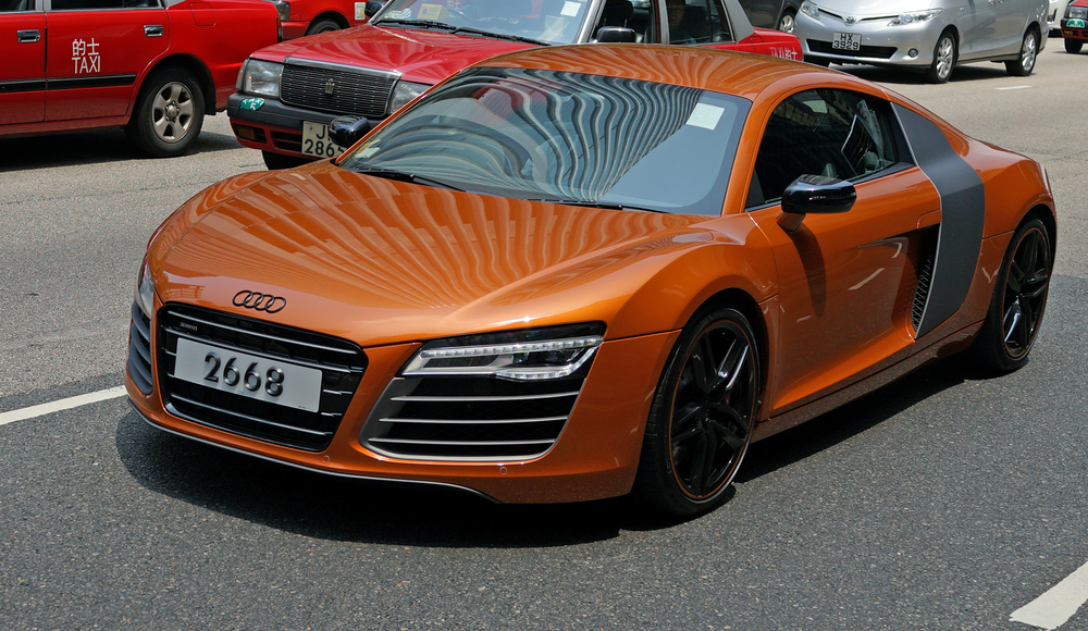 My favourite Audi R8 -  go here for all my Audi car images
