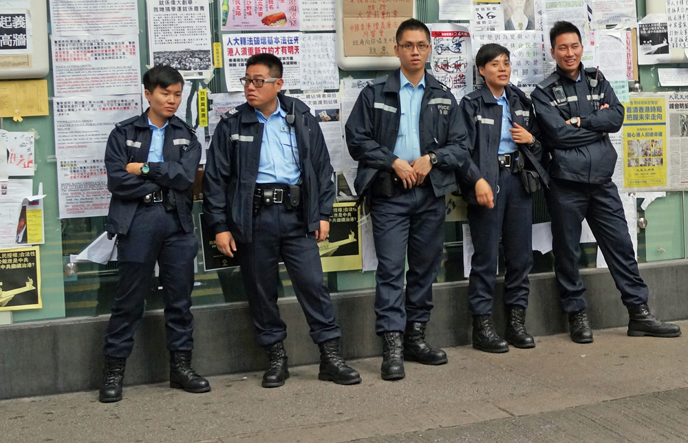 The rule of law in Hong Kong is being challenged by a bunch of immature yahoo's whose childish behaviour is embarrassing... I am glad that we still have the best Police Force in the world and when the time comes they will give us back the rule of law which is the very foundation of Hong Kong.