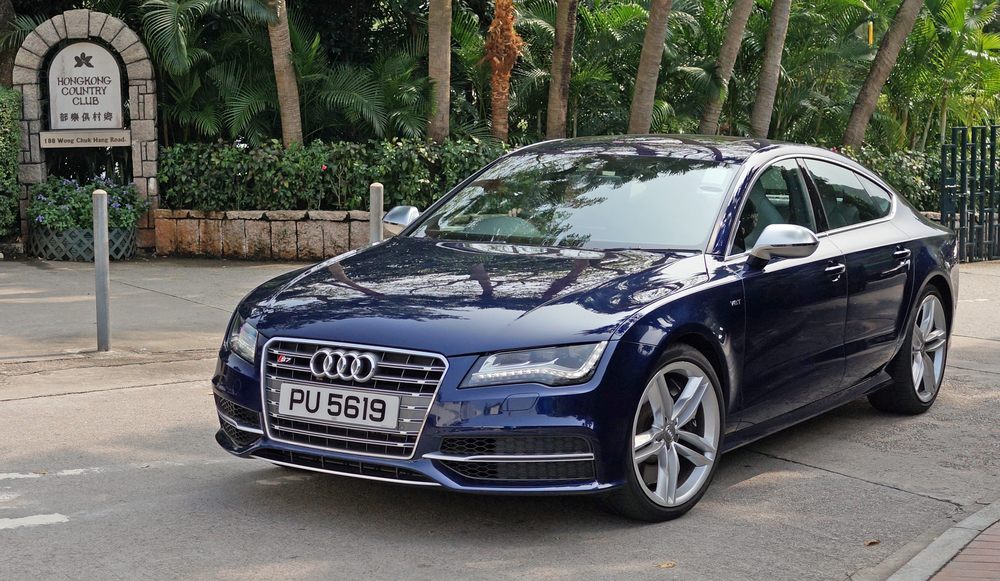 The Hong Kong Country Club on the south side of Hong Kong Island is a great spot for a bit of luxury car spotting - Audi's are very common in Hong Kong and I am a big fan.