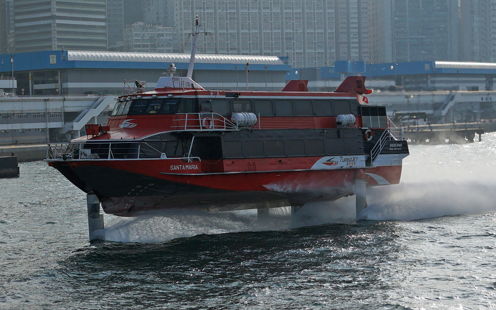 This is what all the fuss is about - The Macau Hydrofoil
