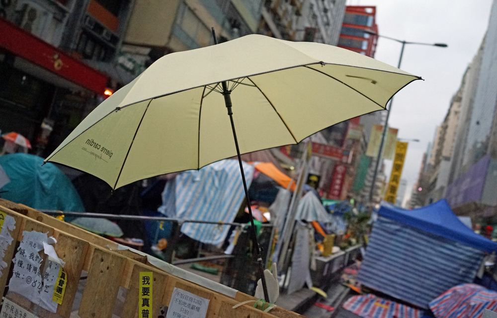 ... and to those morons that think I am a communist sympathiser because I disagree with what they are protesting about - the umbrella has to be the stupidest most imbecilic symbol for a protest movement ever. Only in Hong Kong.... oh and free speech is a pillar of democracy