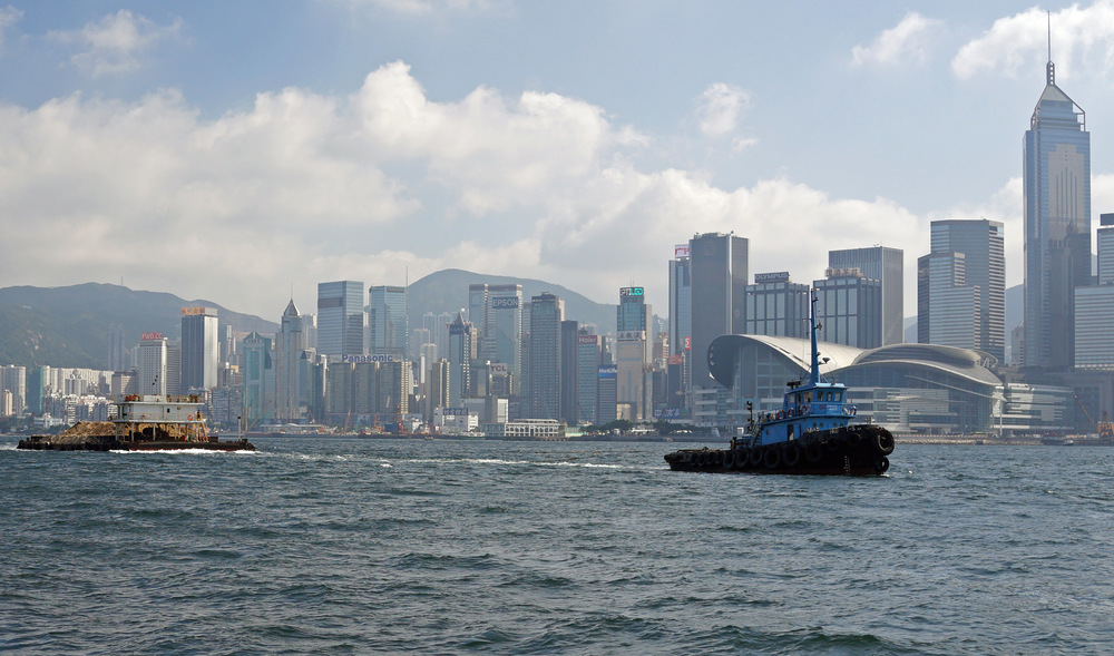 That would be a tug in Hong Kong harbour then......