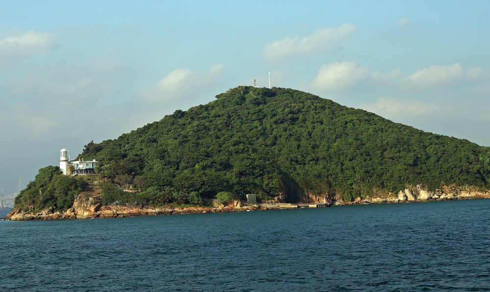 You pass Green Island on the way to Cheung Chau Island
