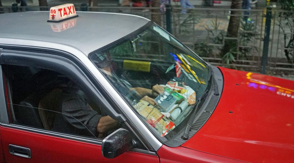A fairly typical Hong Kong Taxi Driver