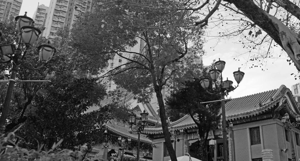 The brilliant Sik Sik Yuen Wong Tai Sin Temple in Wong Tai Sin, Kowloon