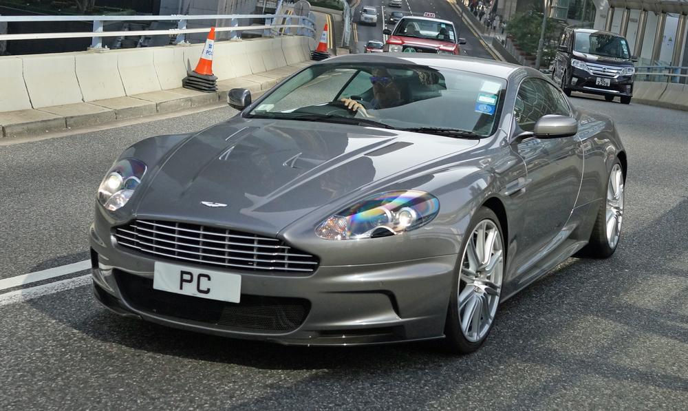 A classic Aston Martin