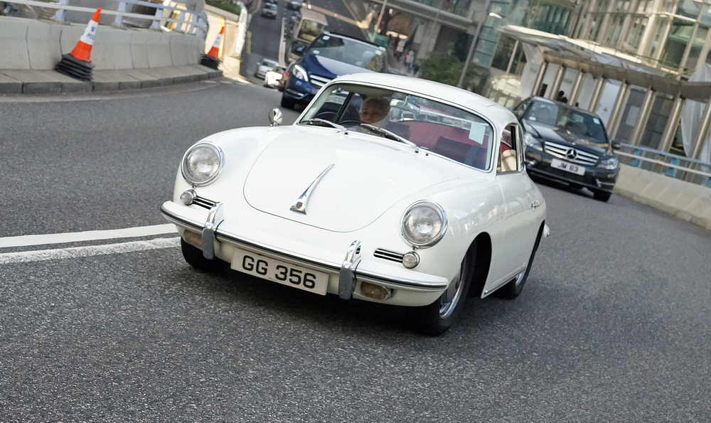 Before my time of course, the classic Porsche 356