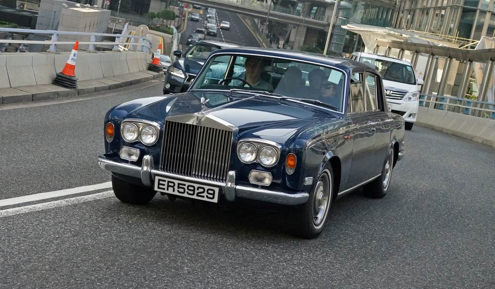 A classic old Rolls Royce.. lovely but I also like the new models which are just peachy.