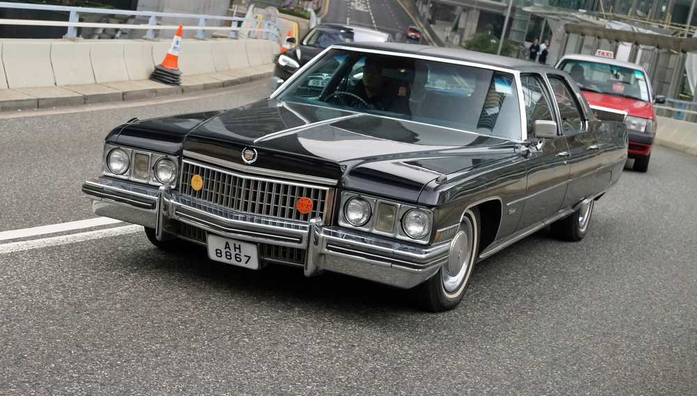 American cars have no status in Hong Kong but me thinks this old Cadillac Fleetwood is a classic!