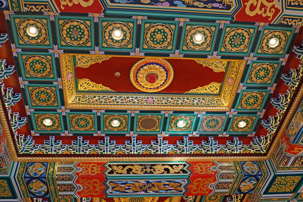 I am still in awe of the roof of the new Po Lin Monastery, fabulous