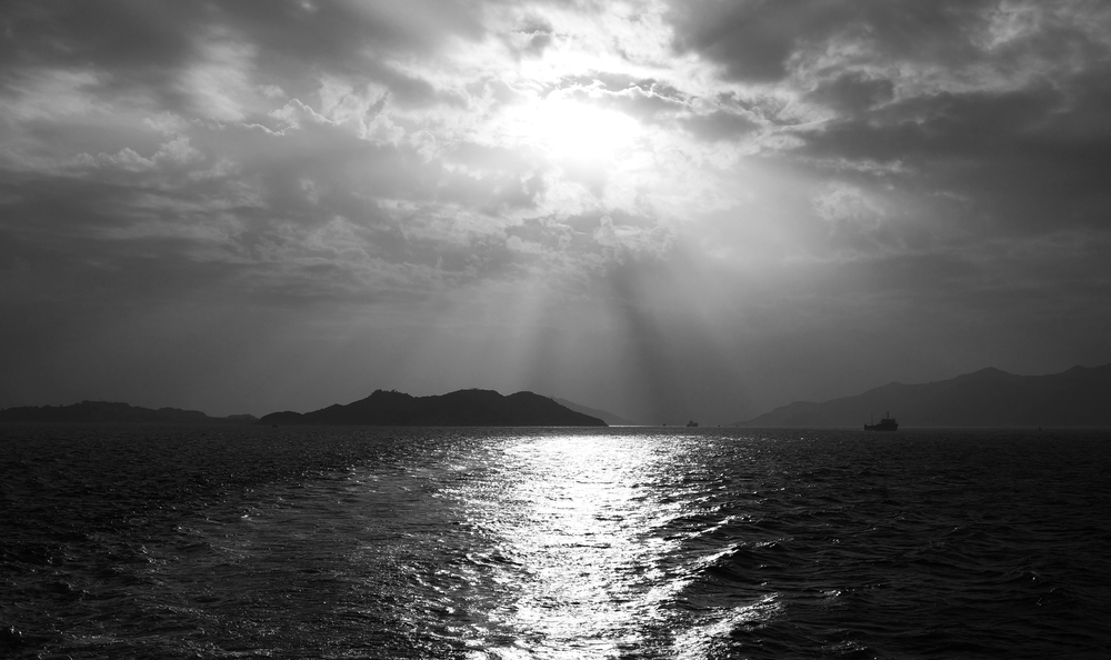 Every now and then I am in the right place at the right time and with a bit of photoshop trickery I create a decent image - here I am on the slow Ferry to Central after leaving Cheung Chau Island - you simply must visit Cheung Chau when you come to here, why?