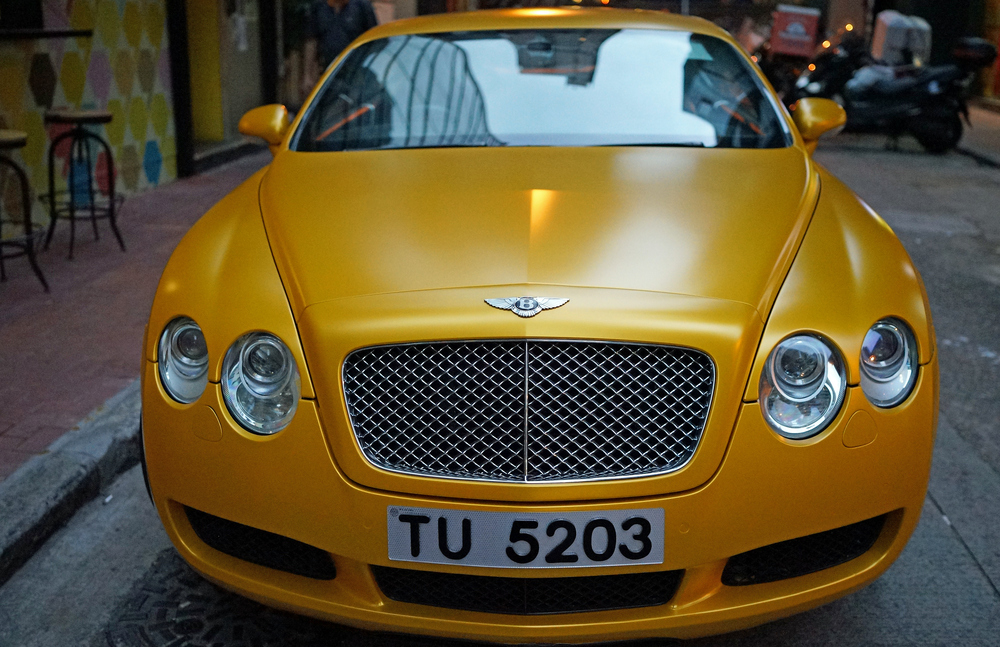 Yup, the awesome gold / yellow matte Bentley