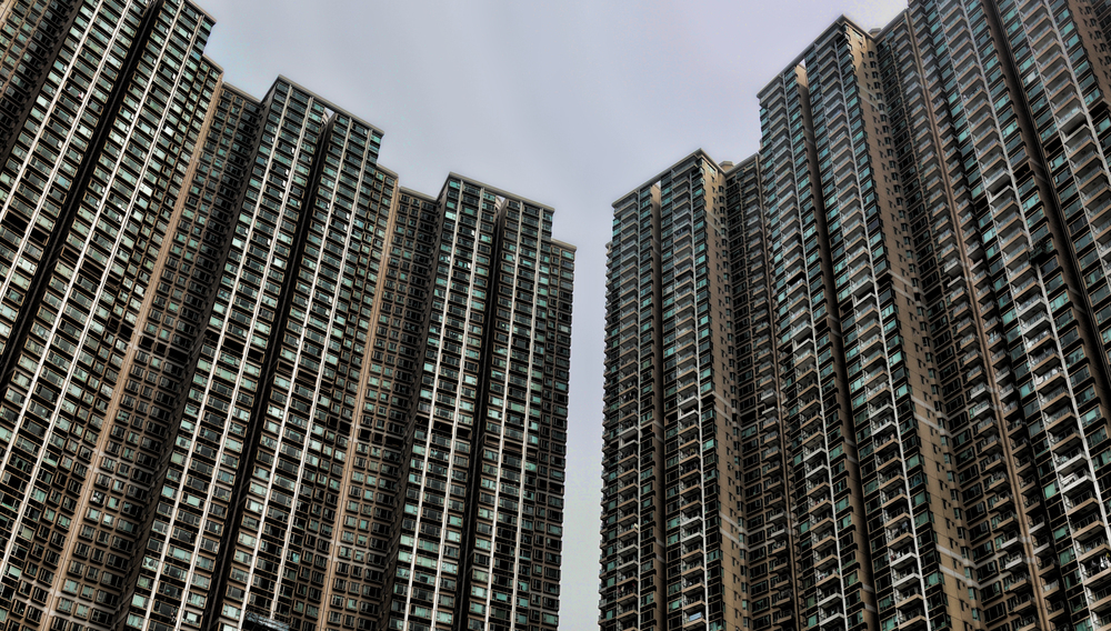 The Bellagio - some of the tallest apartment blocks in Hong Kong!