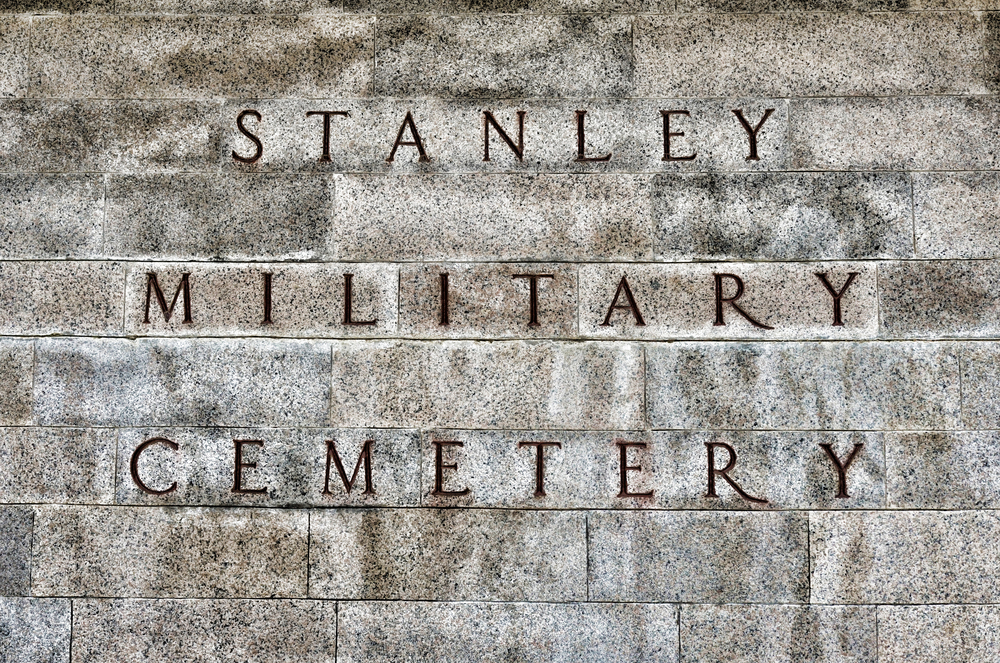 A very moving experience, you should go there   Go here for all of my images of Stanley Military Cemetery