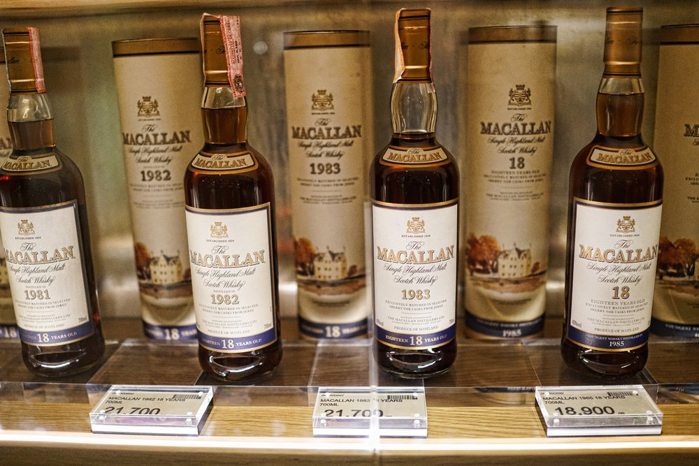 There is quite a market in Hong Kong for expensive scotch