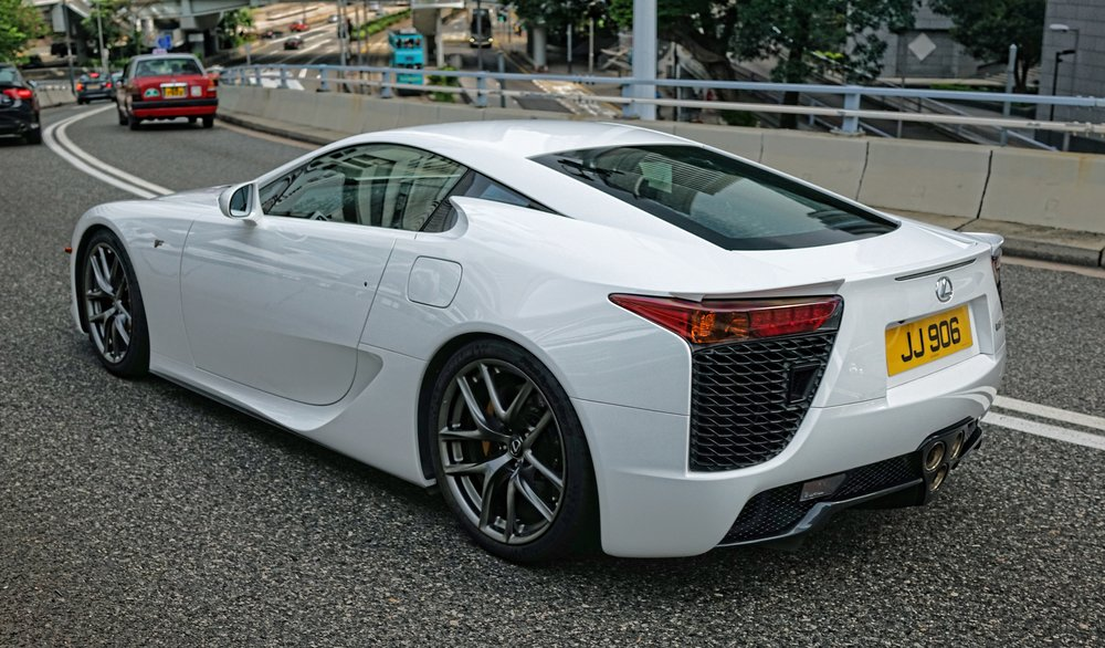 The Lexus LFA, quite the sports car!