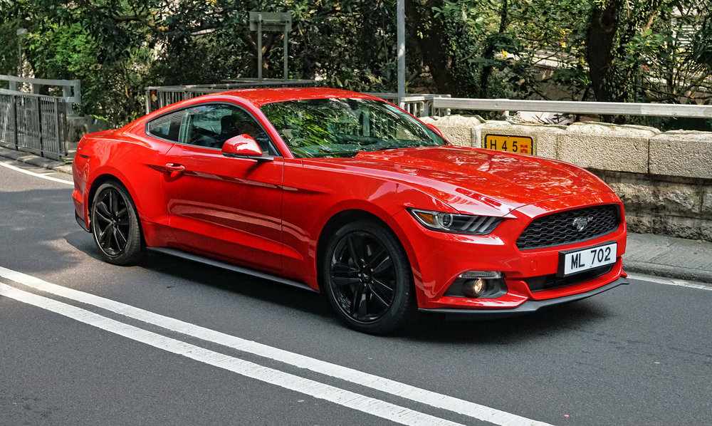 To be honest, American muscle cars have never been popular in Hong Kong but I have noticed quite a lot of the new Ford Mustangs on the streets, nice looking car with lot's of power -