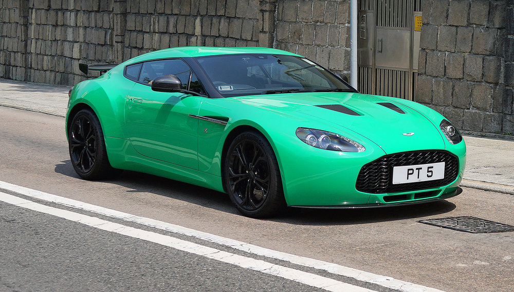 Oh my gosh, I appreciate the colour is not to everyone's taste (Craig!) but lordy what a drop dead GORGEOUS car, an Aston Martin Zagato which is quite rare in Hong Kong. I can only imagine the pleasure that owning this beast gives to the owner, he has a lot of class in my book.