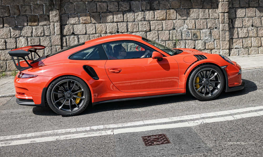 Porsche GT3 RS - HOUSE, awesome car -  go here for all of my Porsche cars in Hong Kong images