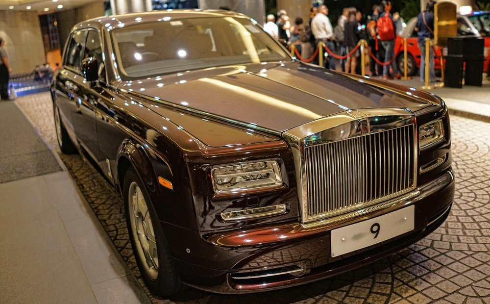 Rolls Royce Phantom, what an amazing car